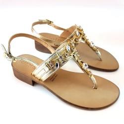 SANDALO jewel Italian gold