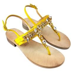 SANDALO yellow  jewel Italian