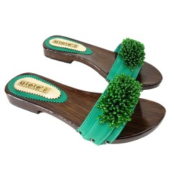LOW LEATHER CLOGS LUXURY