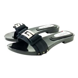Chaussures Sabot Basse Noir
