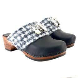 CHIC WINTER CLOGS AVEC STONES 2019