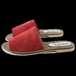 Sandale italienne Rouge