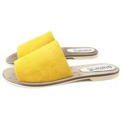 Sandale italienne Jaune