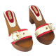 BICOLOR RED SHOES