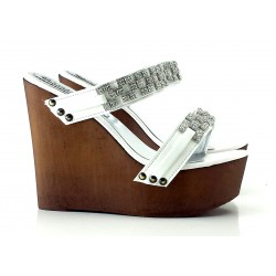 SHOES WEDGE WITH ACCESSORY