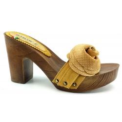 Zapatos de cuero con FLOR