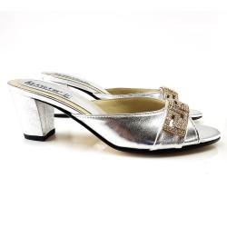 Sandales en cuir bijou